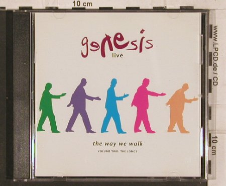 Genesis: Live/The Way We Walk,Vol.2, Virgin(GEN CD 5), NL, 1993 - CD - 82200 - 5,00 Euro