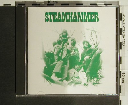 Steamhammer: Same,11Tr. (green), Bellaphon(288 07 095), D, 1970 - CD - 82206 - 10,00 Euro