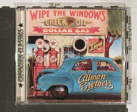 Allman Brothers: Wipe the Windows,Check the Oil..., Capricorn(), D,  - CD - 82212 - 10,00 Euro