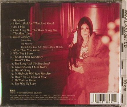 Cher: Bittersweet-The Love Song Collectio, MCA(), EU, 17 Tr., 1999 - CD - 82220 - 10,00 Euro