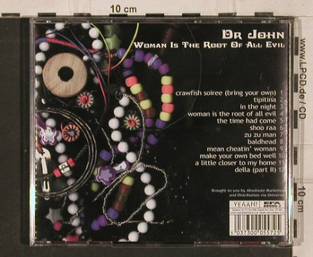 Dr.John: Woman is the Root of All Evil, Yeaah(), UK,  - CD - 82236 - 6,00 Euro