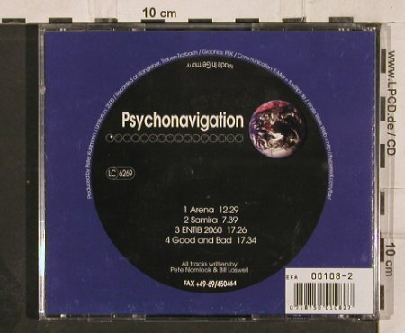 Laswell,Bill & Pete Namlook: Psychonavigation 4, PW 40(PW 40), D,  - CD - 82269 - 7,50 Euro