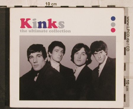 Kinks: The Ultimate Collection,44 Tr., Sanctuary(SANCD109), UK, 2002 - 2CD - 82280 - 10,00 Euro