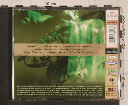 Neumeier,Manni and Friends: Terra Amphibia-Deep in the Jungle, Prudence(398.8686.2), , 2003 - CD - 82294 - 10,00 Euro