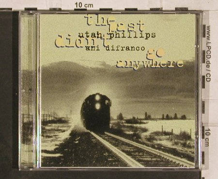 Phillips,Utah & Ani Difranco: Go Anywhere, CookVinyl(), UK, 1997 - CD - 82298 - 6,00 Euro