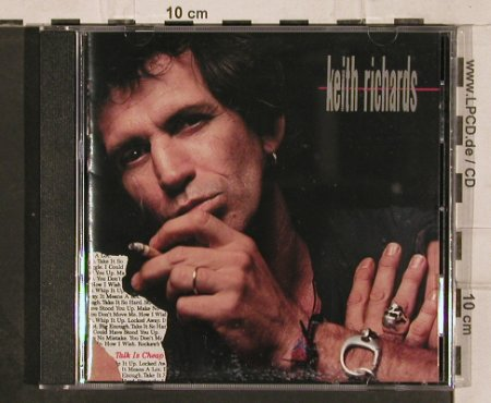 Richards,Keith: Talk Is Cheap, Virgin(CDV 2554), UK, 1988 - CD - 82303 - 7,50 Euro