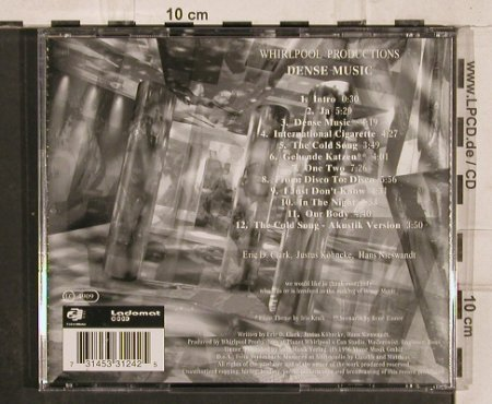 Whirlpool Productions: Dense Music, Motor(), D, 1996 - CD - 82317 - 6,00 Euro