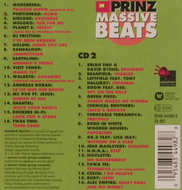 V.A.Massive Beats Vol.1: Morcheba,Portish,Goldie, WB(), D, 1996 - 2CD - 82322 - 10,00 Euro