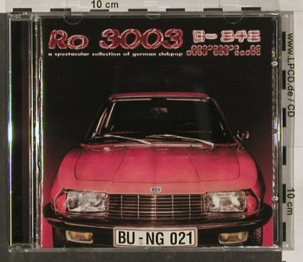 V.A.RO 3003: German Club Pop,17 Tr, Bungalow(021), D, 1997 - CD - 82323 - 7,50 Euro
