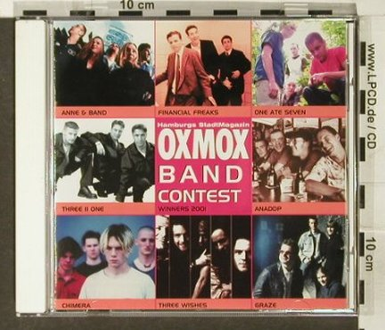 V.A.OXMOX Band Contest: Winner 2001, Rock On Rec.(), HH, 2001 - CD - 82328 - 5,00 Euro