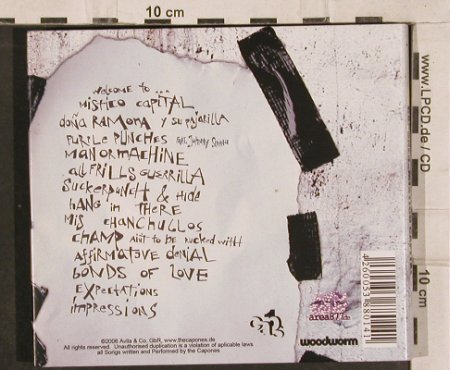 Capones: Mistico Capital, Digi, Avila/Woodworm(), , 2006 - CD - 82874 - 7,50 Euro