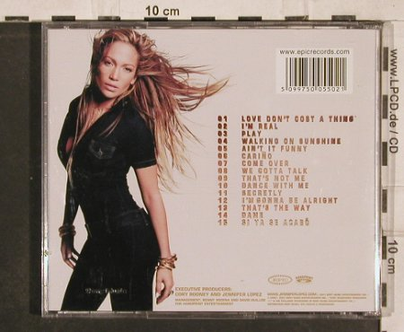 Lopez,Jennifer: J.Lo, Epic(), A, 2000 - CD - 82899 - 5,00 Euro