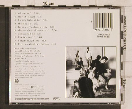 A-HA: Hunting High And Low, WB(), D, 1985 - CD - 82968 - 5,00 Euro