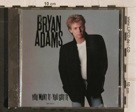 Adams,Bryan: You Want It You Got It, AM(), D, 1981 - CD - 82978 - 5,00 Euro