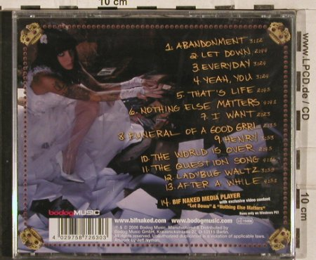 Bif Naked: Superbeautifulmonster, FS-New, Bodog Music(0172630BDM), D, 2006 - CD - 82983 - 7,50 Euro