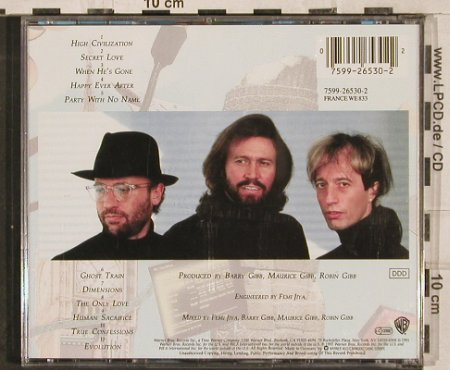 Bee Gees: High Civilization, WB(), D, 1991 - CD - 82992 - 5,00 Euro