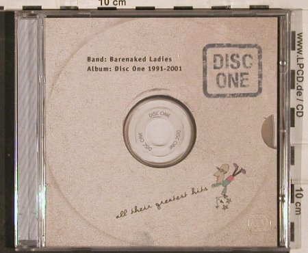 Barenaked Ladies: Disc One:All Their Greatest Hits, Reprise(), EU, 2001 - CD - 82993 - 5,00 Euro