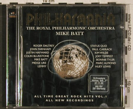 Batt's Philharmania,Mike: Philharmania Vol.1, V.A., Stella(), D, 1998 - CD - 82997 - 6,00 Euro
