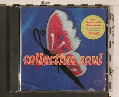 Collective Soul: Hints Allegations&Things(butterfly), Atlantic(), D, 1993 - CD - 83025 - 7,50 Euro