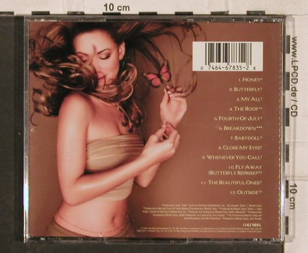 Carey,Mariah: Butterfly, Columbia(), A, 1997 - CD - 83035 - 5,00 Euro
