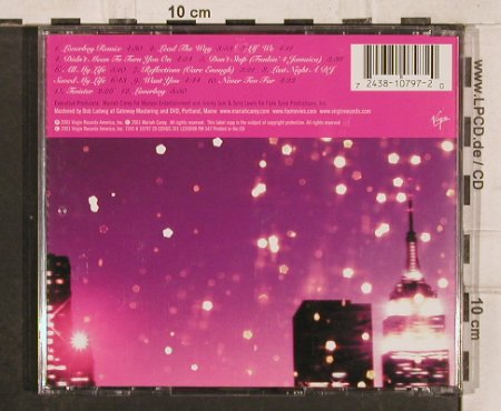 Carey,Mariah: Glitter, Virgin(), EU, 2001 - CD - 83037 - 5,00 Euro