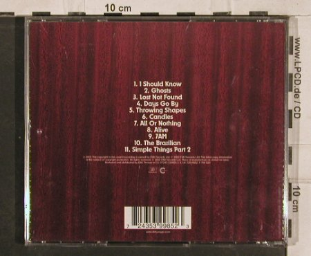 Dirty Vegas: Same, EMI(), EU, 2002 - CD - 83066 - 5,00 Euro