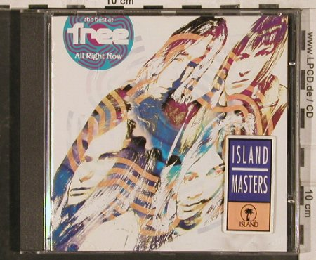 Free: All Right Now-The Best Of, Island(824 523-2), EU, 1991 - CD - 83084 - 7,50 Euro