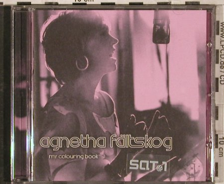 Fältskog,Agnetha: My Colouring Book, WEA(), EU, 2004 - CD - 83086 - 7,50 Euro