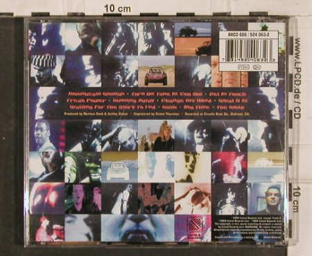 Freakpower: Drive-thru Booty, Isl.(), F, 1993 - CD - 83095 - 5,00 Euro