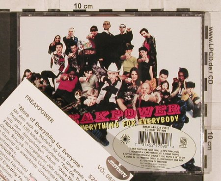 Freakpower: More Of Everthing For Everybody, Island(524 259-2), EU, 1996 - CD - 83103 - 5,00 Euro