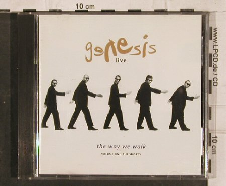 Genesis: Live/The Way We Walk,Vol.One, Virgin(GEN CD 4), , 1992 - CD - 83110 - 7,50 Euro