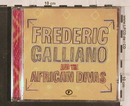 Galliano,Frederic a.t.African Divas: Same, FS-New, F Communic(), D, 2002 - CD - 83117 - 6,00 Euro
