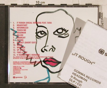 Headman: IT Rough, co, Gomma(), EEC, 2001 - CD - 83135 - 5,00 Euro