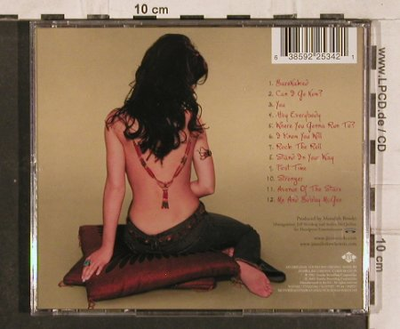 Jennifer Love Hewitt: Barenaked, Zomba(), EU, 2002 - CD - 83141 - 6,00 Euro