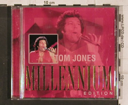 Jones,Tom: Millennium Edition, 18 Tr., Universal Deram(), D, 2000 - CD - 83147 - 5,00 Euro