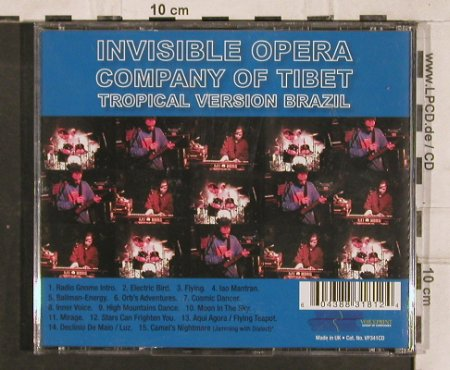 Invisible Opera Company of Tibet: Glissando Spirit Live 1994, Voiceprint(), UK, 2004 - CD - 83148 - 5,00 Euro