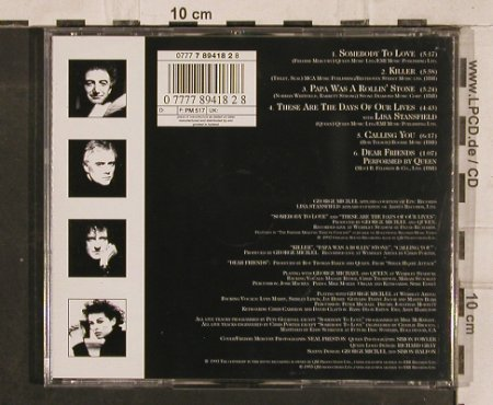 Michael,George & Queen: Five Live,w.Lisa Stansfield,6 Tr., Parlophone(), NL, 1993 - CD - 83206 - 6,00 Euro