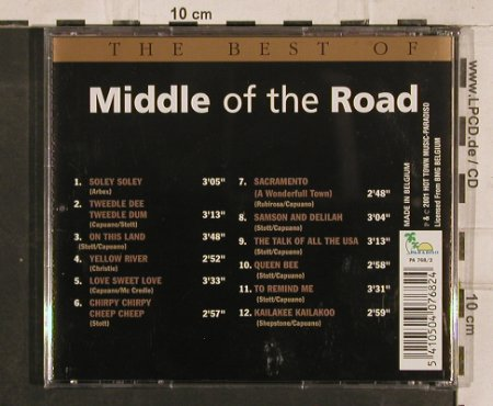 Middle Of The Road: The Best of, Paradiso(), , 2001 - CD - 83208 - 5,00 Euro