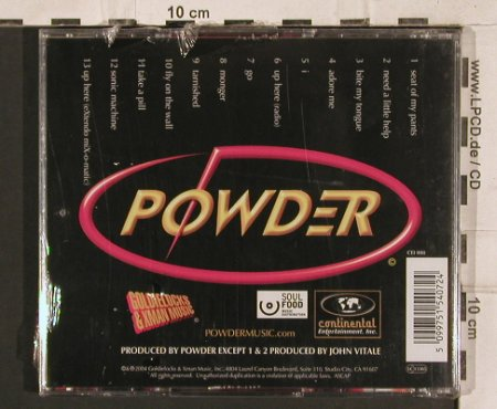 Powder: Same, FS-New, Goldielock(), , 2004 - CD - 83251 - 5,00 Euro