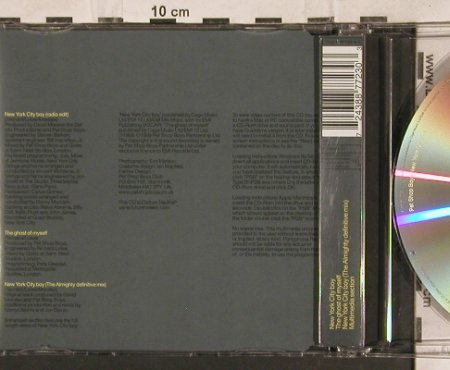 Pet Shop Boys: New York City Boy,*2+1, Emi(), D, 1999 - CD5inch - 83254 - 3,00 Euro