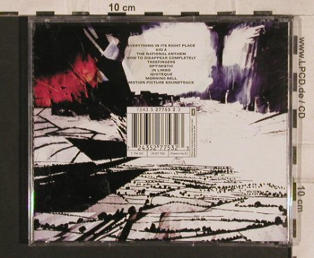 Radiohead: Kid A, EMI(), EU, 2000 - CD - 83276 - 7,50 Euro