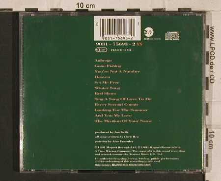 Rea,Chris: Auberge, green, 12Tr., EW(), D, 1991 - CD - 83279 - 7,50 Euro