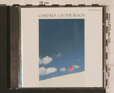 Rea,Chris: On The Beach, 13 Tr., Magnet(829 194-2), D, 1986 - CD - 83280 - 6,00 Euro