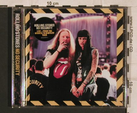 Rolling Stones: No Security, Virgin(), EU, 1998 - CD - 83282 - 10,00 Euro