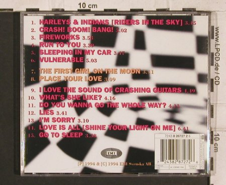 Roxette: Crash!Boom!Bang!,15Tr., EMI(), NL, 1994 - CD - 83286 - 7,50 Euro