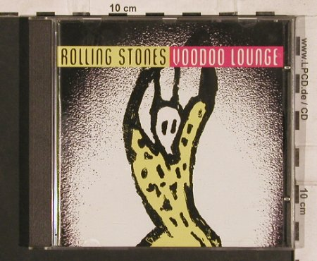 Rolling Stones: Voodoo Lounge, Virgin(8 39782 2 9), NL, 1994 - CD - 83295 - 7,50 Euro