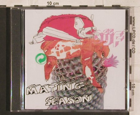 Sanders,Dijf: Mating Season, FS-New, Clone Rec.(), NL, 2004 - CD - 83330 - 10,00 Euro