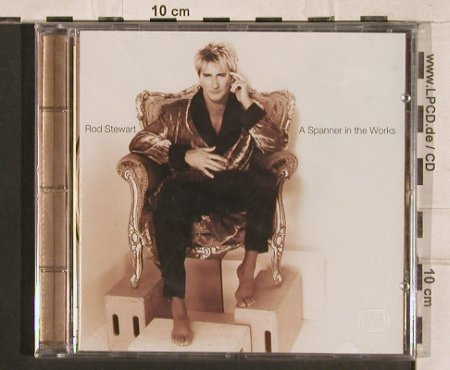 Stewart,Rod: A Spanner In The Works, FS-New, WEA(), , 1995 - CD - 83333 - 11,50 Euro