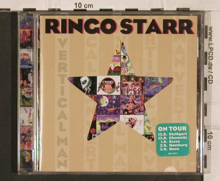 Starr,Ringo: Vertical Man, Mercury(), D, 1998 - CD - 83344 - 10,00 Euro