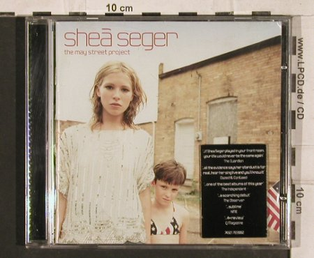 Seger,Shea: The May Street Project, RCA(), EU, 2000 - CD - 83347 - 5,00 Euro